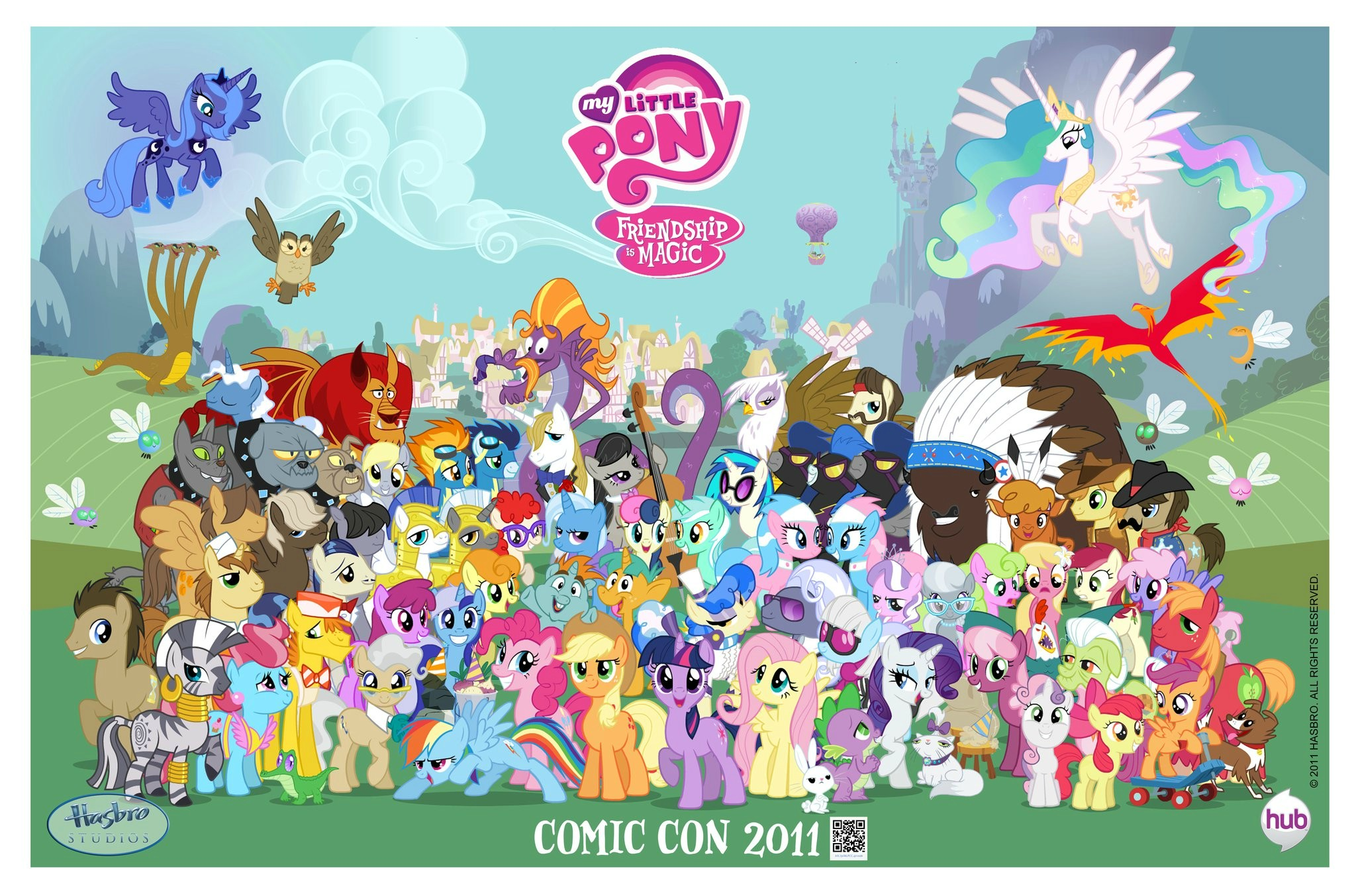 My_Little_Pony_Friendship_is_Magic_Comic_Con_2011_poster